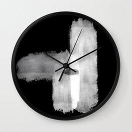 Intimacy BW Wall Clock