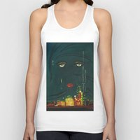 great gatsby Tank Tops featuring Gatsby by Julia Lopez
