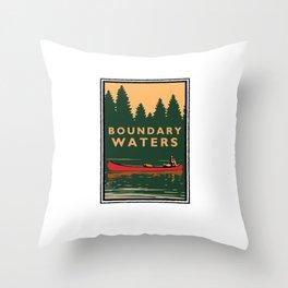LANDMARK SERIES | MN BOUNDARY WATERS Throw Pillow