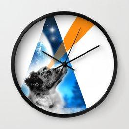 Lasereyes Monk (triangle edition) Wall Clock