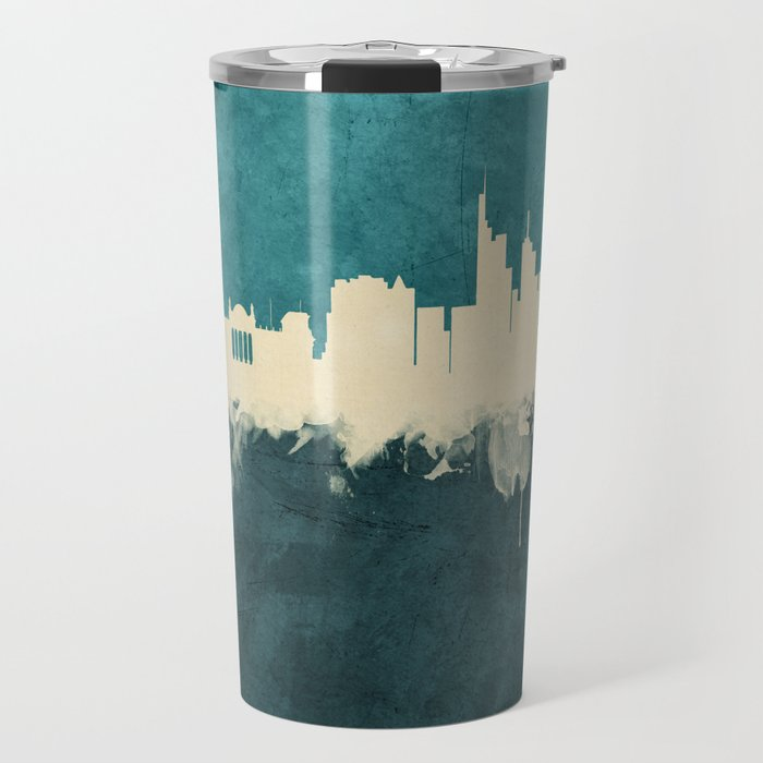 Berlin Germany Skyline Travel Mug