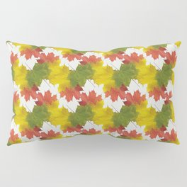 Leaves and Colors Pillow Sham