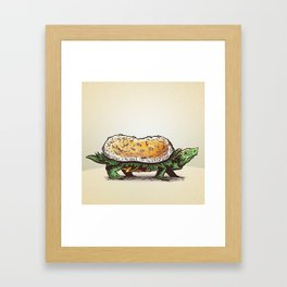 Burgerweek #3 The Turtleburger Framed Art Print