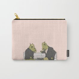 A two horse race Carry-All Pouch