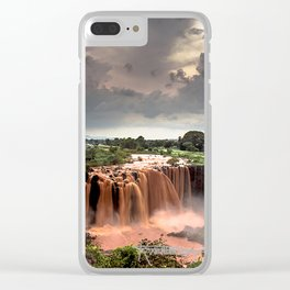 Nile Falls Clear iPhone Case