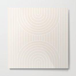 Arch Symmetry I Metal Print