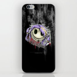 Totenknöpfin iPhone Skin