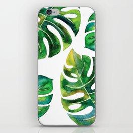 Wildness In Monstera iPhone Skin