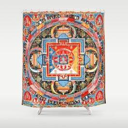 Mandala Buddhist 6 Shower Curtain