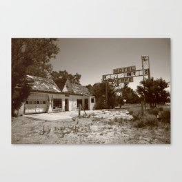 Route 66 - Glenrio, Texas 2012 Canvas Print