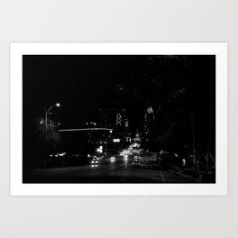 downtown austin, texas Art Print