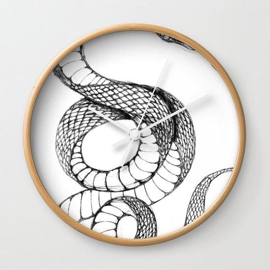 snake 02 Wall Clock