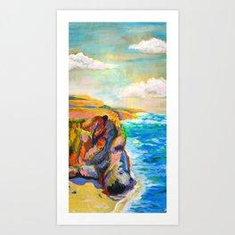 Beach Study Art Print