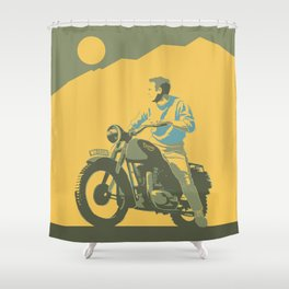 escape Shower Curtain