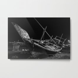 Sailboat  A - 382 Metal Print