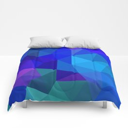 Sapphire Low Poly Comforters