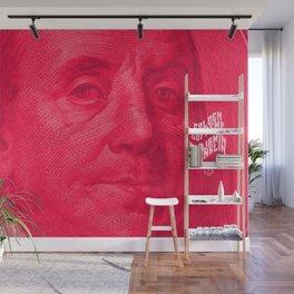 Benjamin (pink) Wall Mural