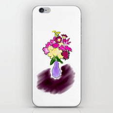 Bright Bouquet iPhone & iPod Skin