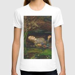 John Everett Millais - Ophelia T-shirt
