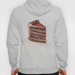 Chocolate Layer Cake Slice Hoody