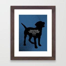 The Purpose Framed Art Print