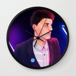 Neon Dan Wall Clock