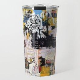Basquiat World Travel Mug