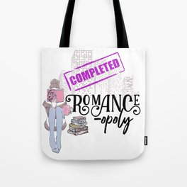 Romanceopoly 2019 Completed Tote Bag
