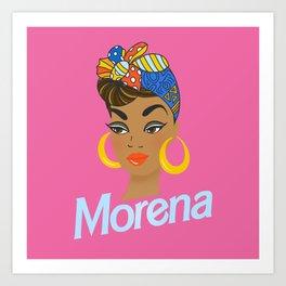 Morena Doll Art Print