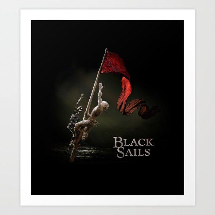 Black Sails Kunstdrucke