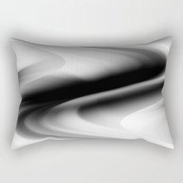 DREAM PATH (Black, Grays & White) Rectangular Pillow