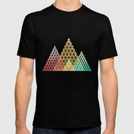 Geometric Christmas Trees 2 T-shirt
