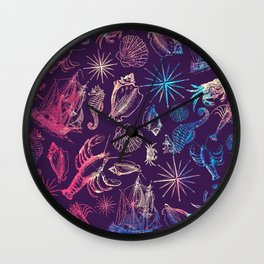 Nautical Galaxy Wall Clock