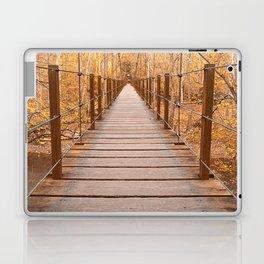 Golden Grove Suspension Bridge Laptop & iPad Skin