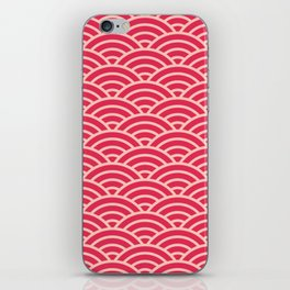Japanese Sakura Koinobori Fish Scale Reversed iPhone Skin