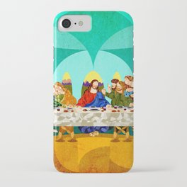 Curves - Last Supper iPhone Case