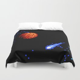The  Voyage  of  a  Wishing  Star Duvet Cover