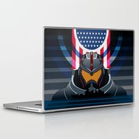 pacific rim Laptop & iPad Skins featuring Pacific Rim v2 by milanova