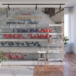 Croix Rousse stairs Wall Mural