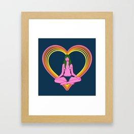 HIGHER LOVE Framed Art Print
