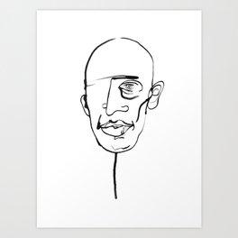 FACES / 006 Art Print