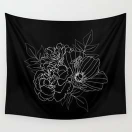 Floral Assortment Wall Tapestry