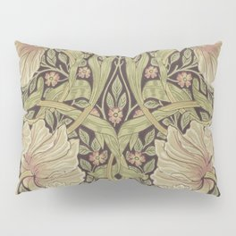 William Morris Pimpernel Art Nouveau Floral Pattern Pillow Sham