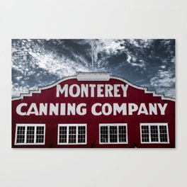 Monterey Canning Company Canvas Print