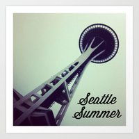 Seattle Summer Art Print