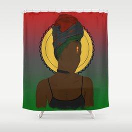 Pan African Queen Shower Curtain
