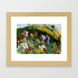 Hunting Party Framed Art Print