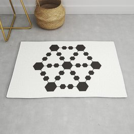 Jugglers Metatron Black Rug