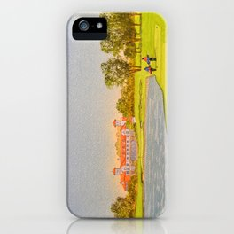 TPC Sawgrass Golf Course 18th Hole And Clubhouse iPhone Case