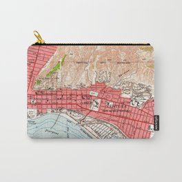 Vintage Map of Ventura California (1951) Carry-All Pouch